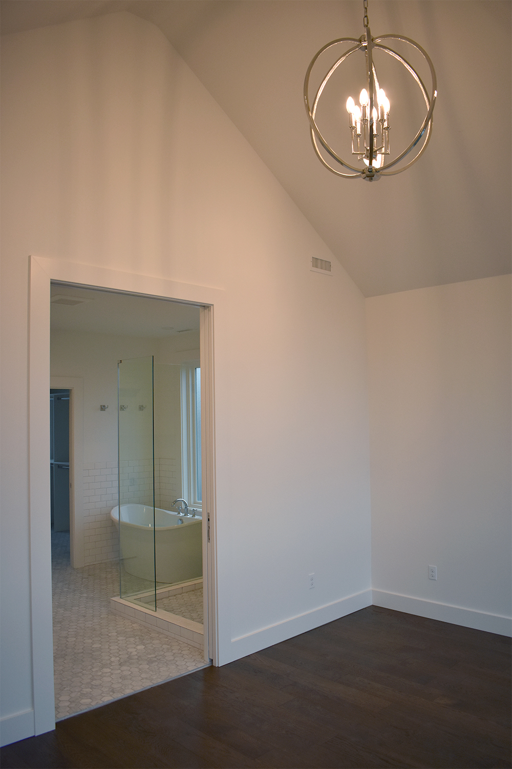 Master Bathroom and Bedroom: Queen Anne Remodel