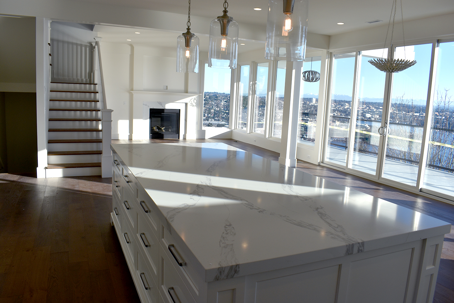 Renovated kitchen in Queen Anne Home Remodel