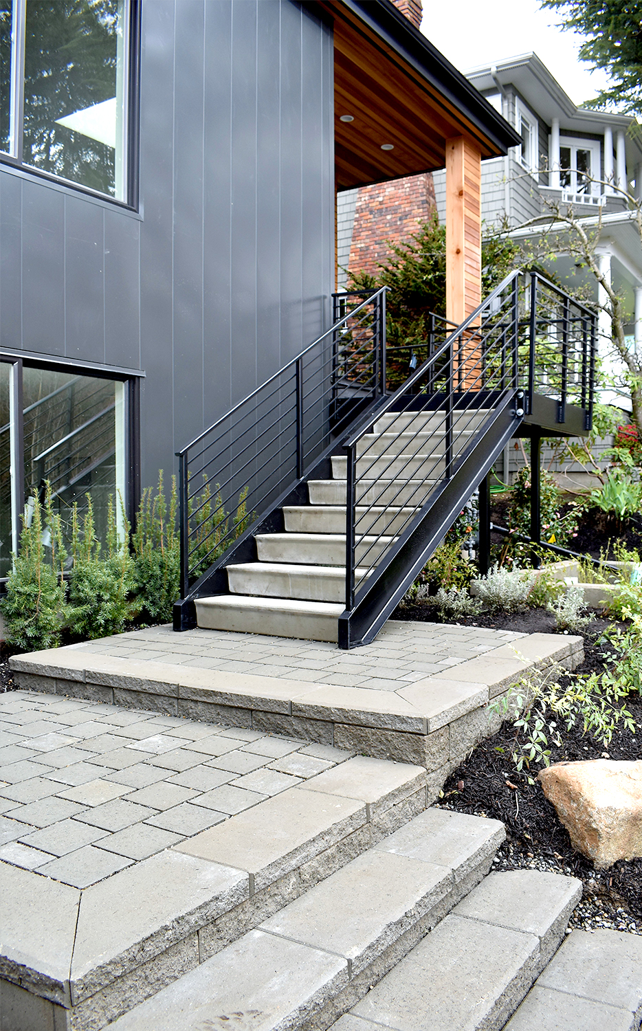Front entry steps