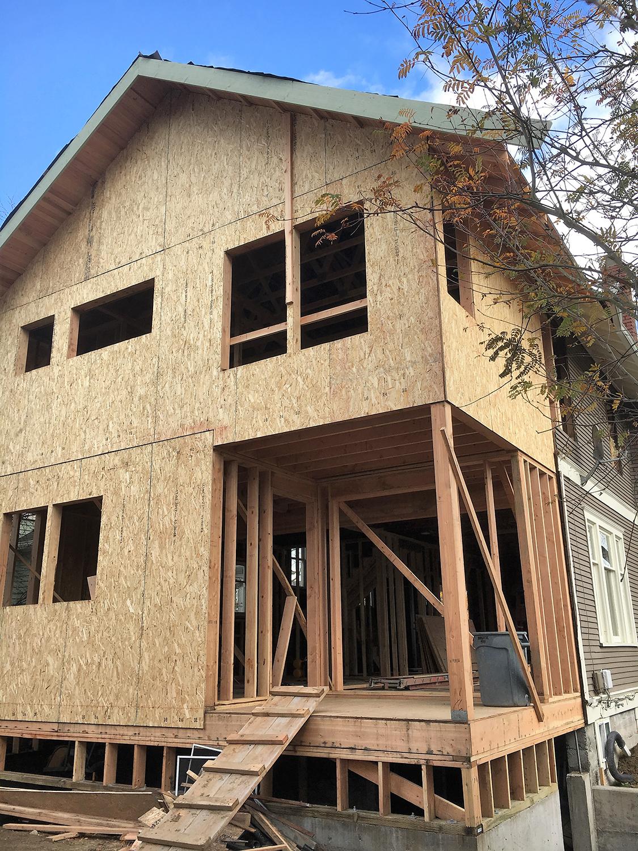 Back Exterior Remodel Construction