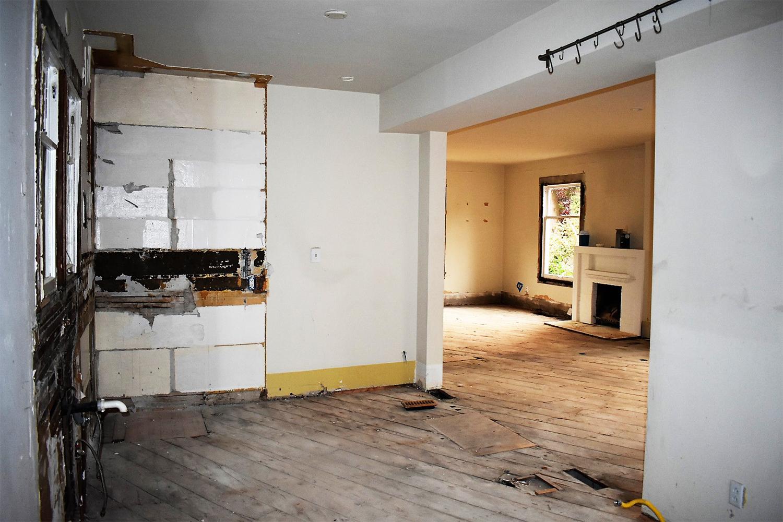 Original Interior Before Remodel