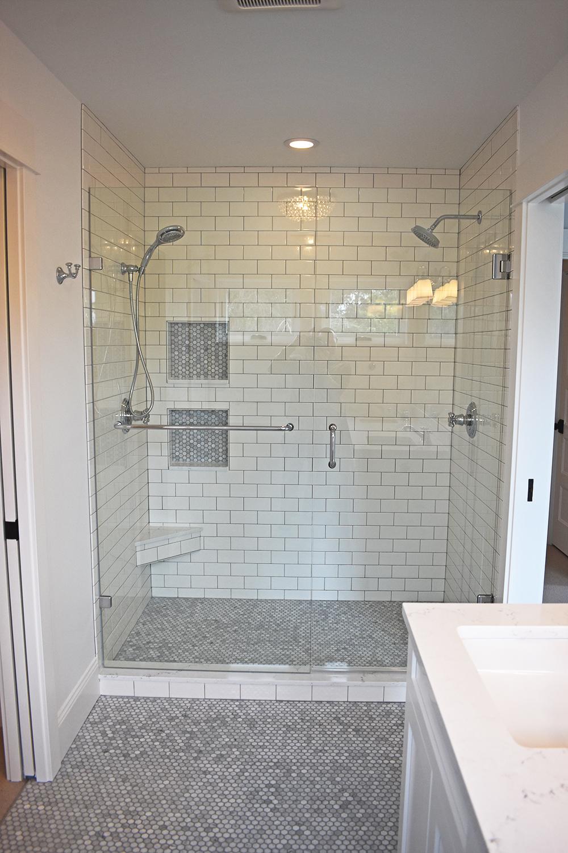 Bathroom Remodel - Dual Shower Head