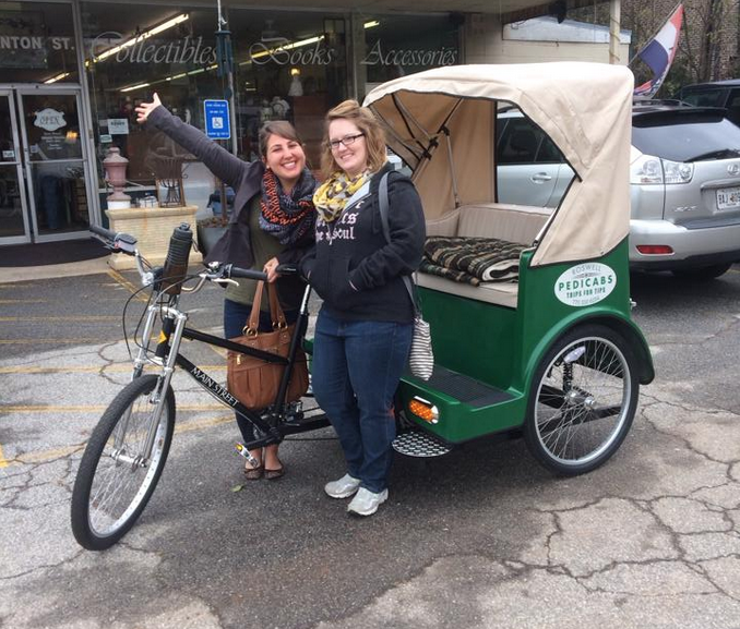 Out Of Town Visitors Love The Pedicab