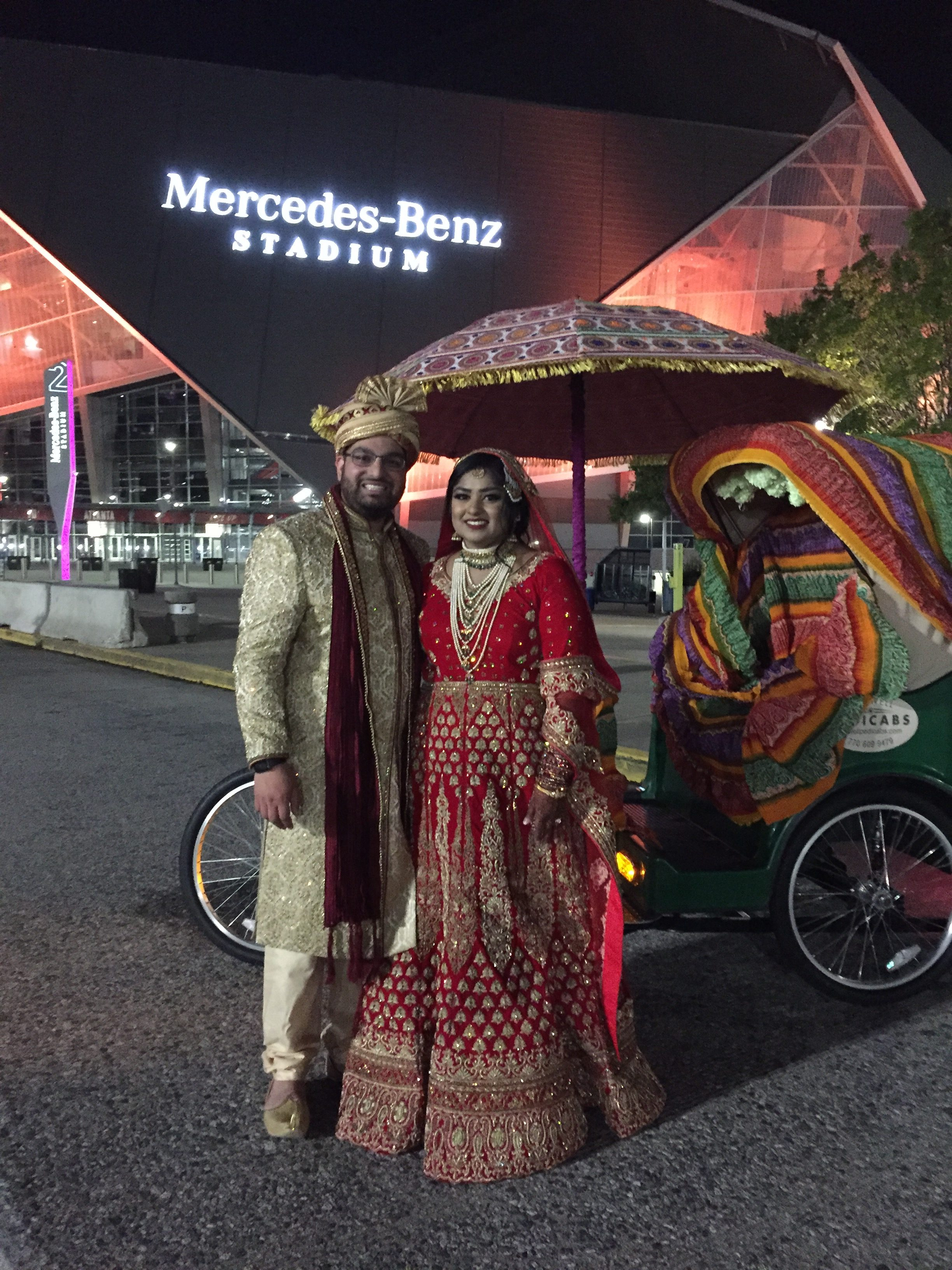 Wedding Ride at the Benz
