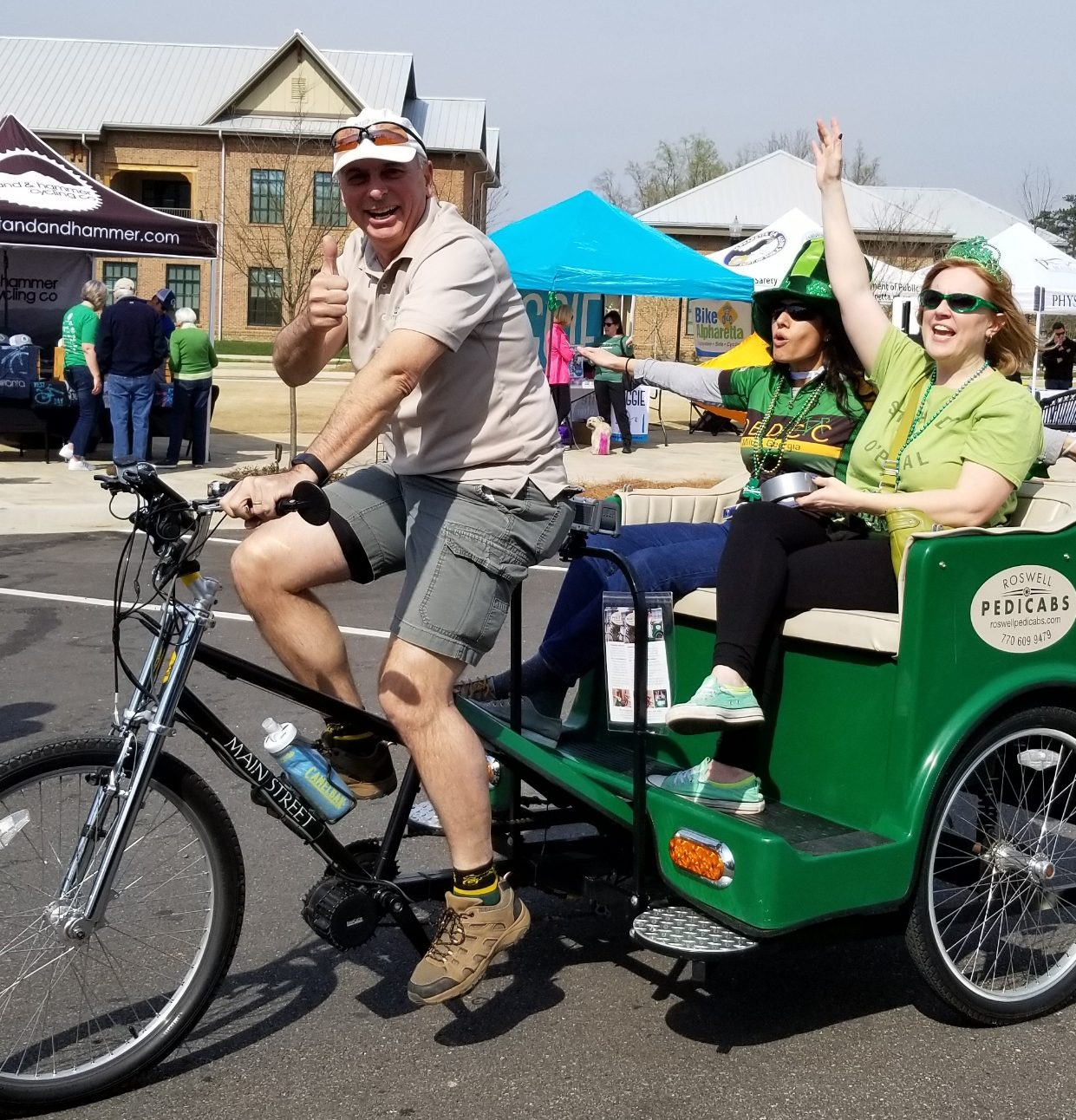 St Paddy OPedal ride volunteers