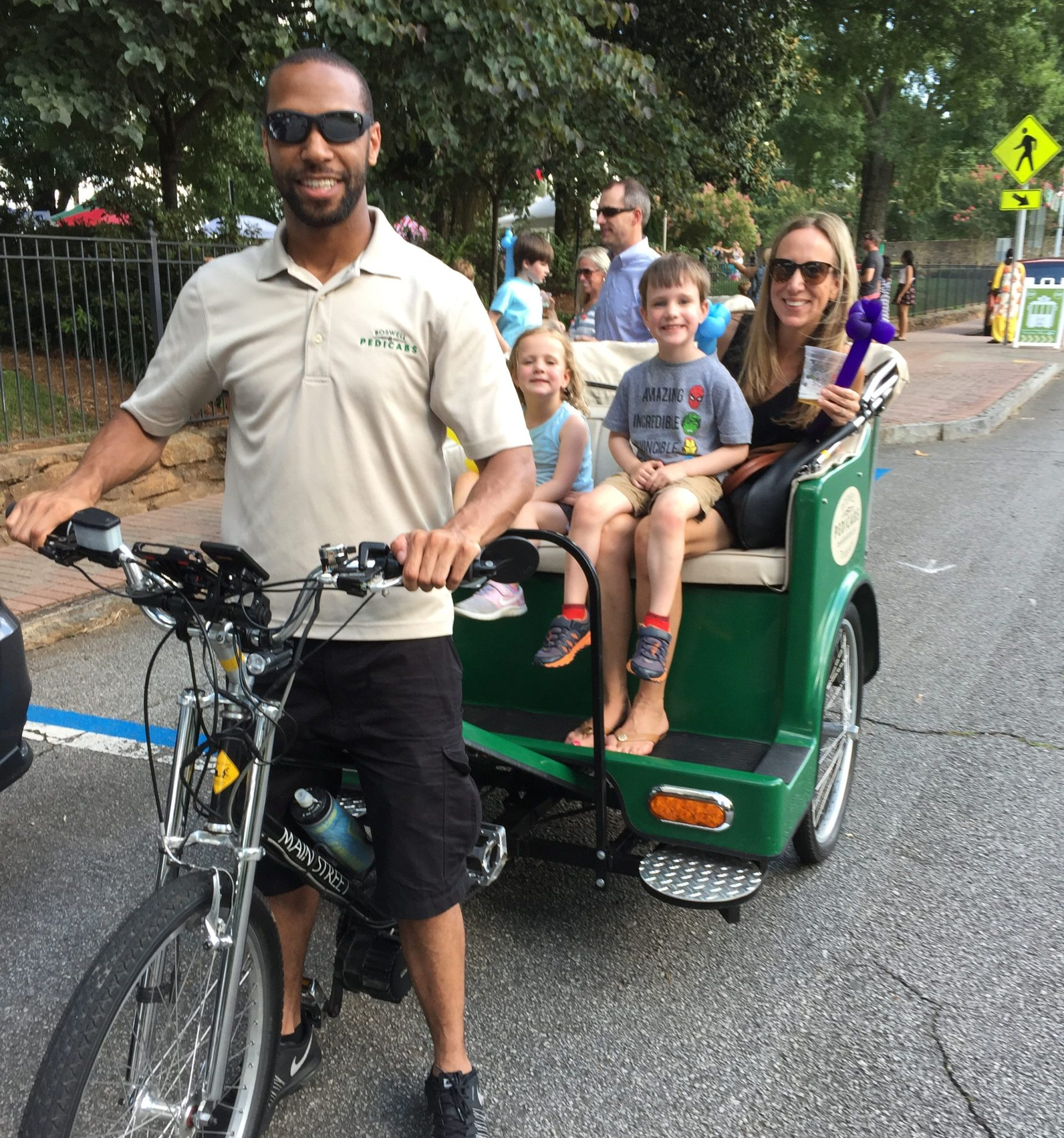 Family Ride-Alive in Roswell