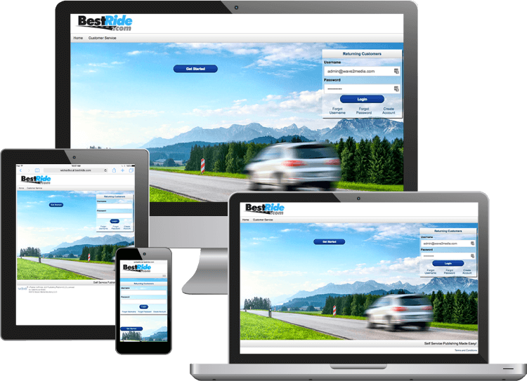 Adportal Autos on desktop and mobile devices