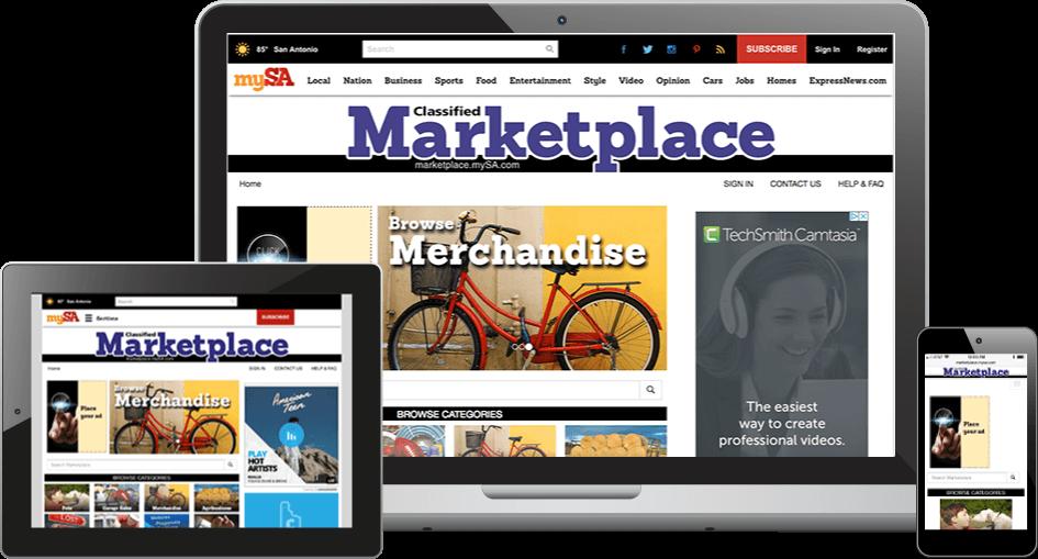 ipublish marketplace on devices