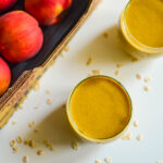 peach turmeric smoothie