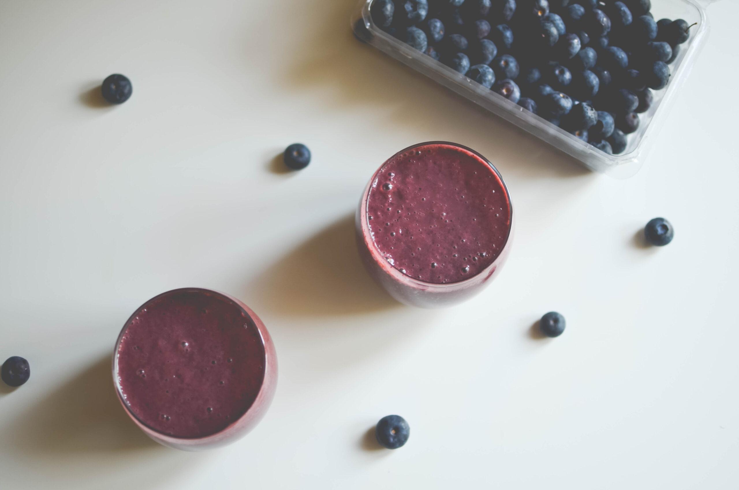 acai blueberry avocado smoothie