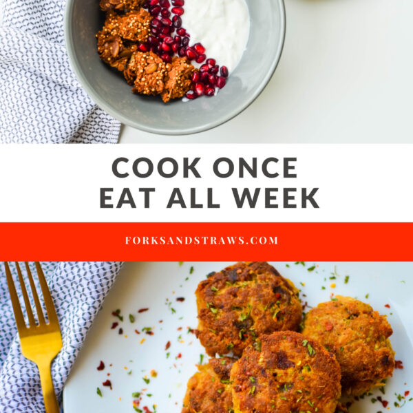 Cook Once Eat All Week cover photo