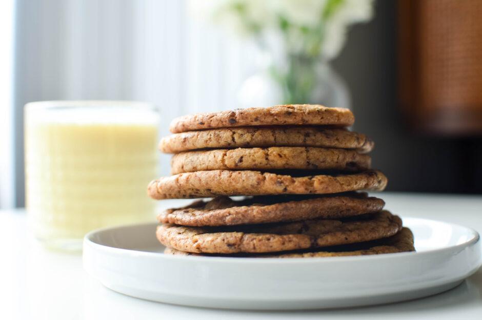 spicy dark chocolate chunk cookies 3