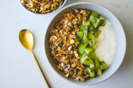 olive oil honey granola