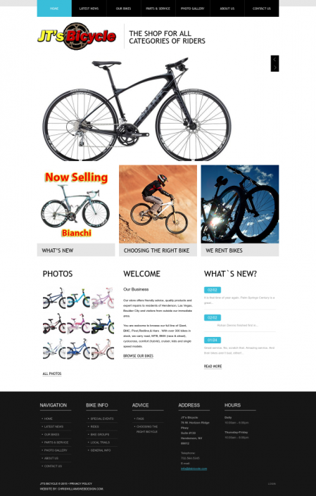 JT's Bicycle Screenshot