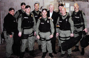 Topeka SWAT with President Bill Clinton