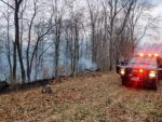 Crews Busy Fighting Brush Fires Started By Train Sparks