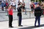 Local Man Lays Wreath At Tomb Of The Unknown Soldier