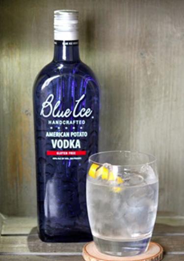 Vodka Lemon Blue Ice Vodka