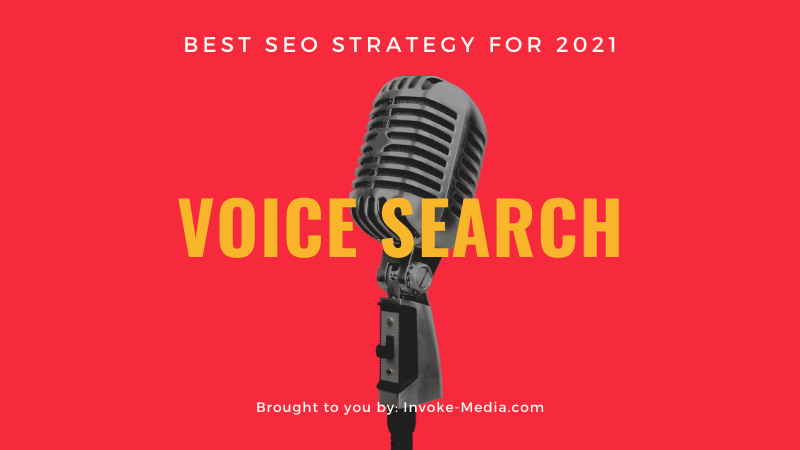 Voice Search Should Be Your Primary SEO Strategy for 2020