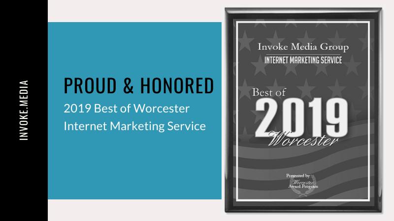Invoke Media Best of Worcester Award