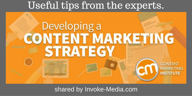 Developing A Good Content Strategy
