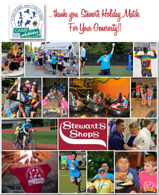 Stewarts Holiday Match fund donation recognition