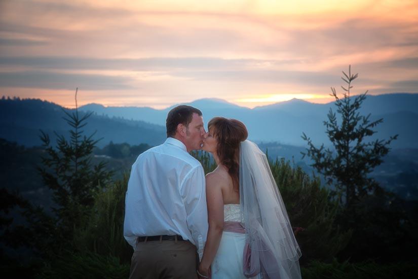 southern oregon, photography, wedding, love, sunset