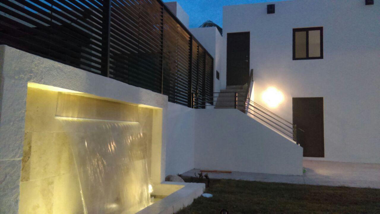 pared de fuente con luminacion san carlos sonora