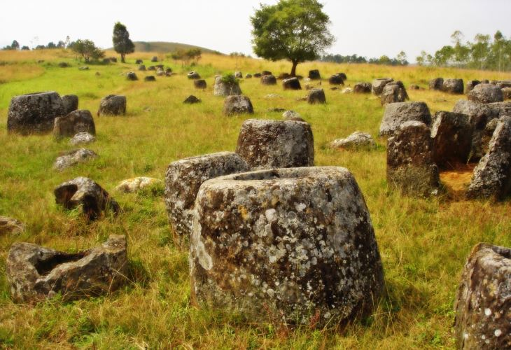 Plain of Jars and surrounding vicinity