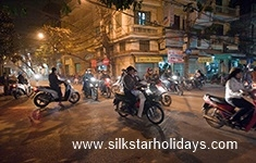 The Art of Crossing the Street in Hanoi in Vietnam by SilkStarHolidays.com