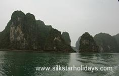 Cruising in Ha Long Bay by SilkStarHolidays.com