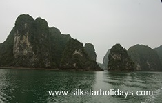 Cruising in Ha Long Bay by SilkStarHolidays.com