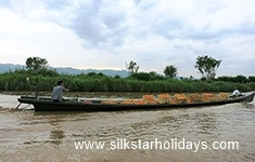Cruising on the way to Inle Lake in Myanmar by SilkStarHolidays.com
