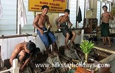 Making Gold Leaf in Mandalay in Myanmar by SilkStarHolidays.com