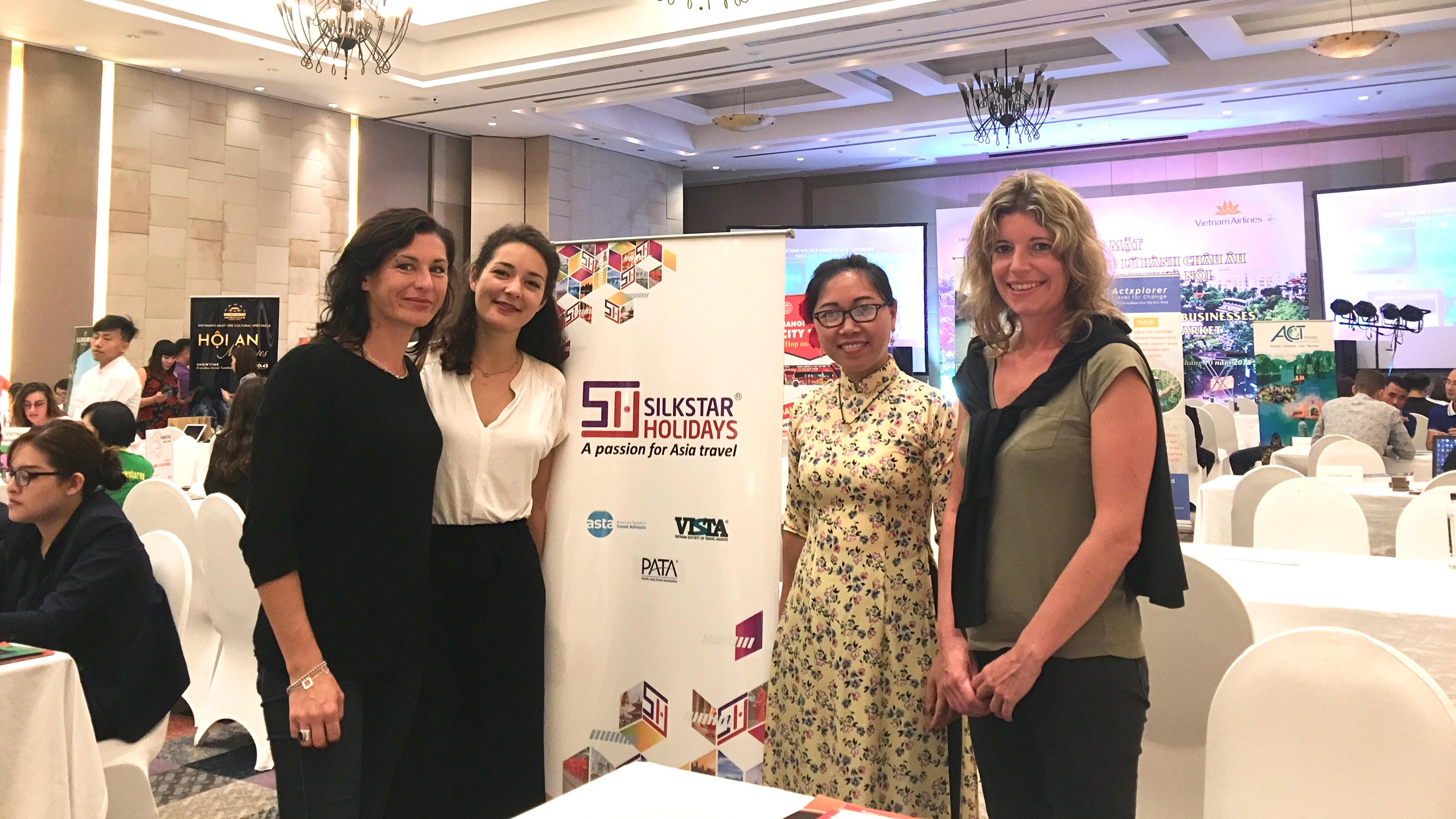 Delegation of European Travel Businesses visited Hanoi.