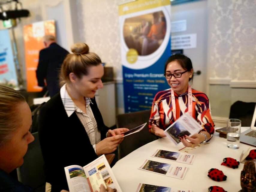 SilkStar at B2B Meetings in Australia - September 2019