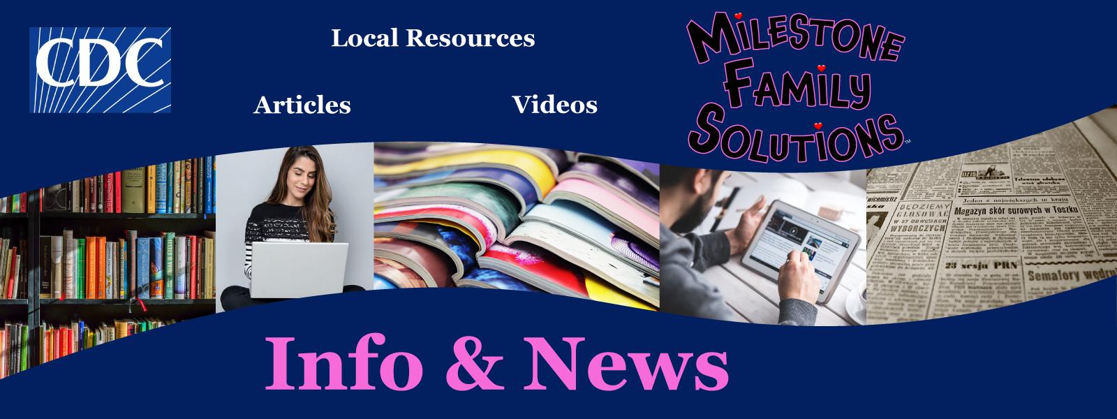 info & news header