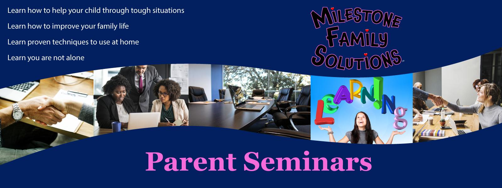 parent seminars header