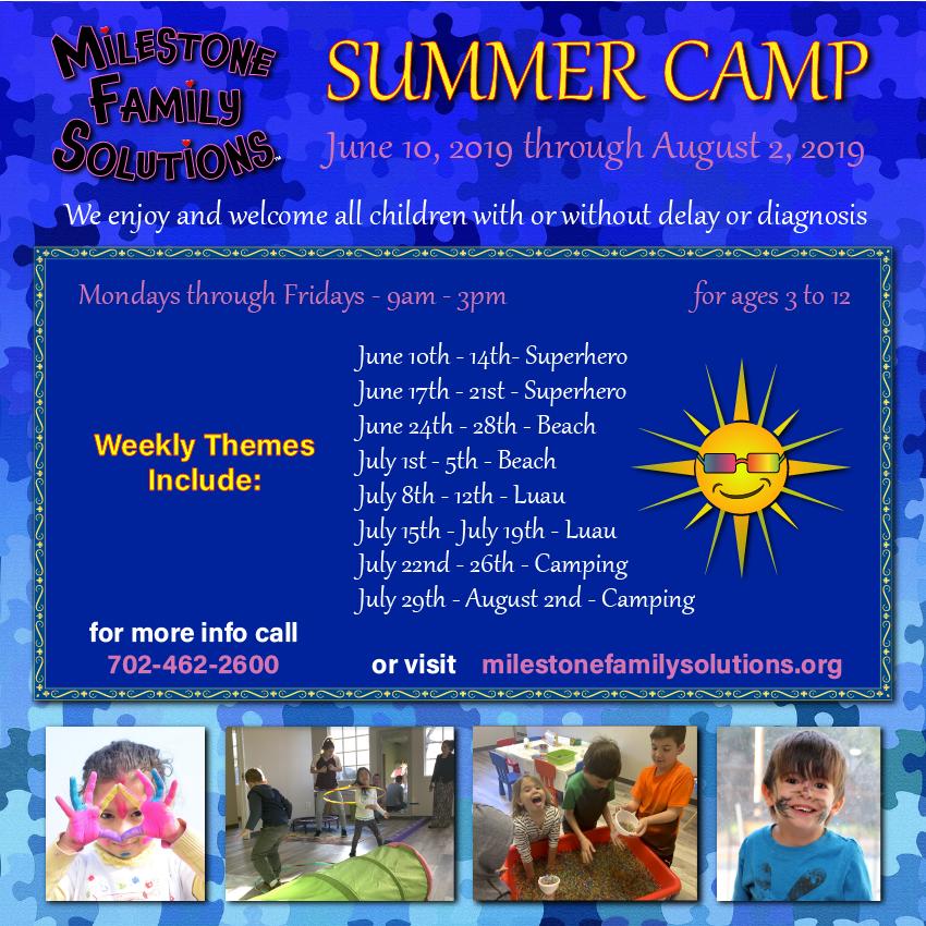 Sign-up for Summer Camp - June 10, 2019