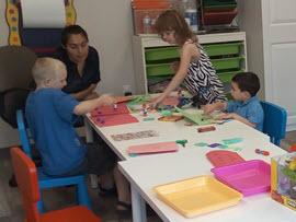 Milestone Children Playing Arts and Crafts