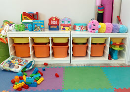 Toys at Milestone Family Solutions