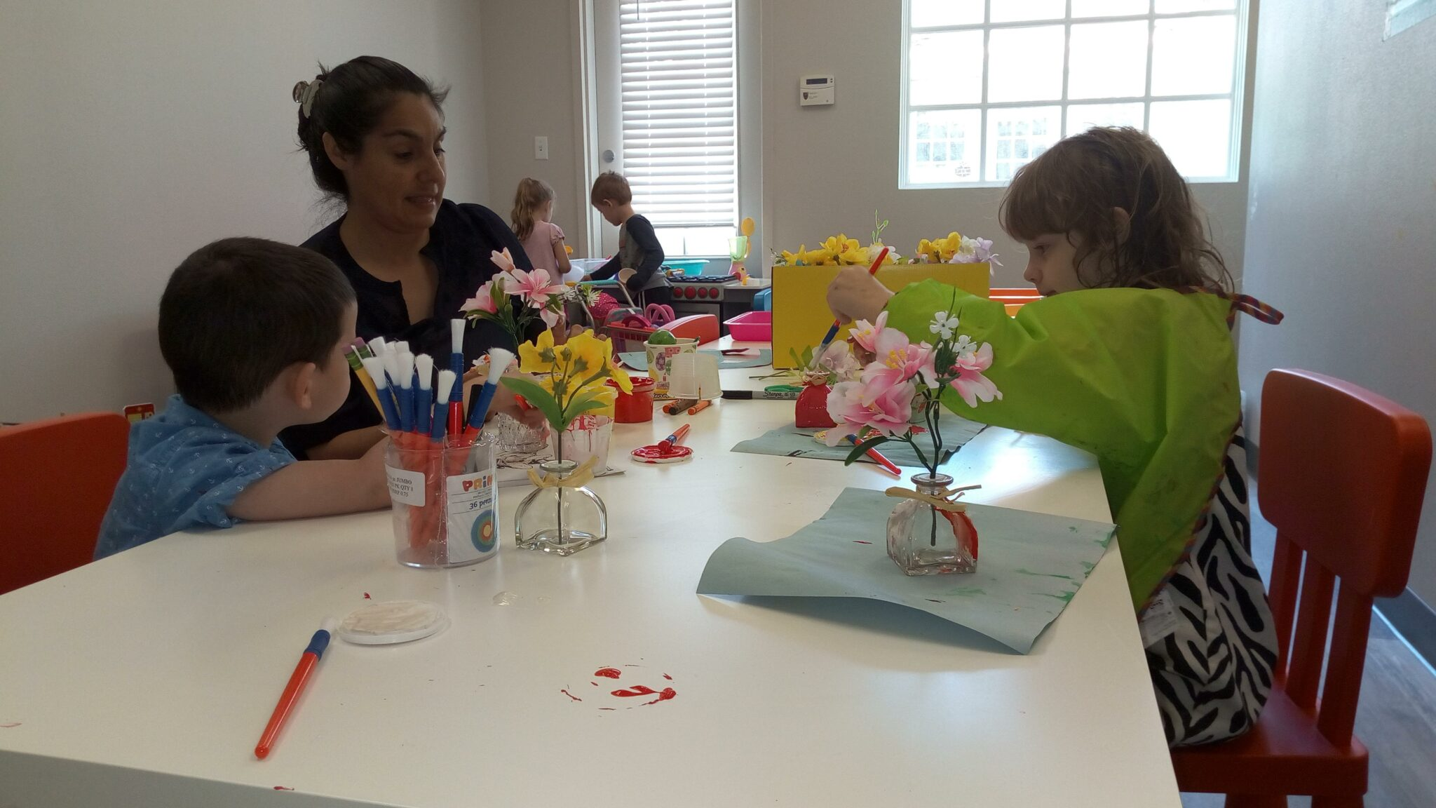 Arts and crafts in the Imagination Station