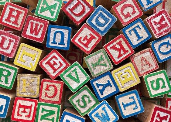 Image of alphabet blocks