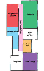 Enrichment Center Floor Plan