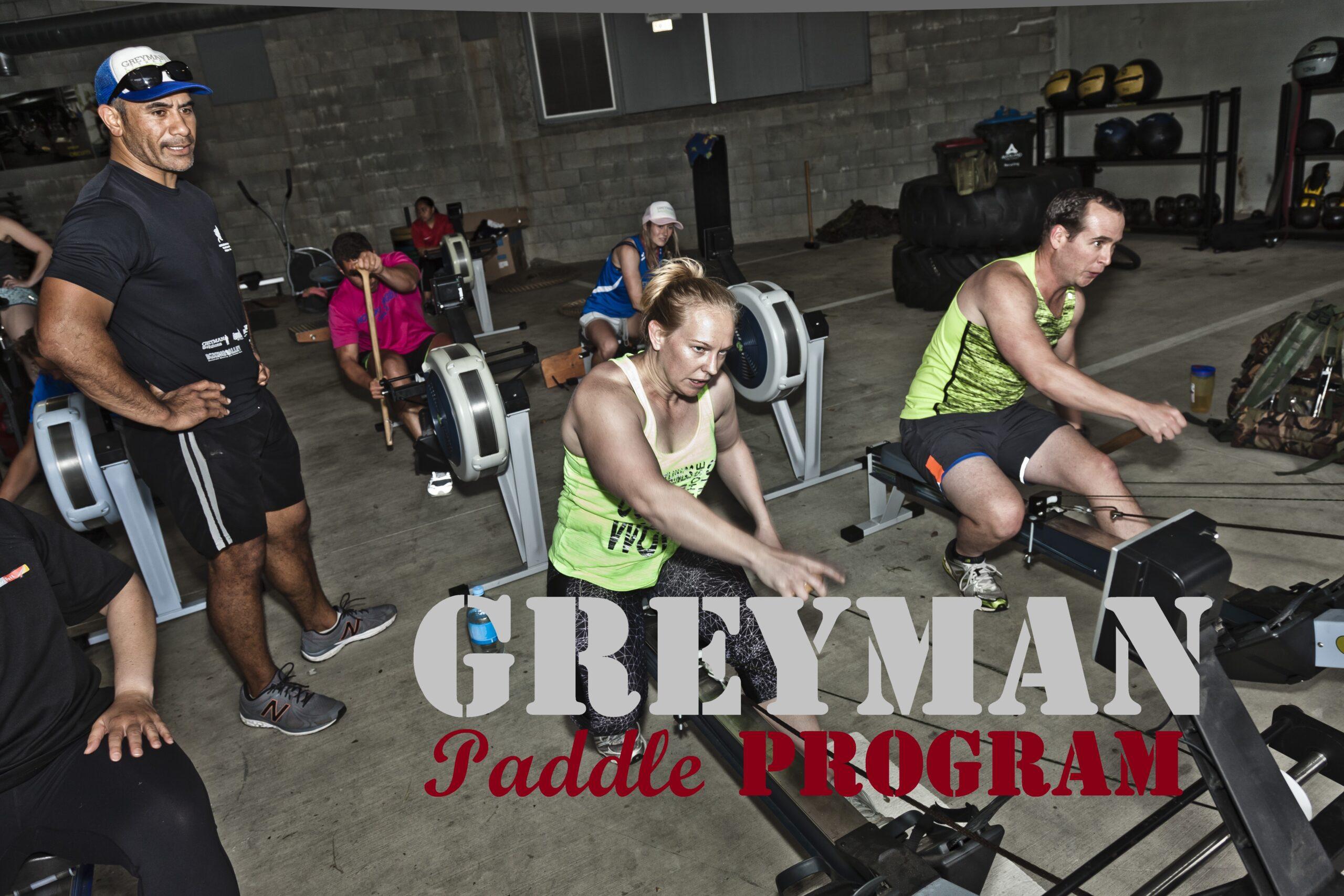 GREYMAN PaddleProgram