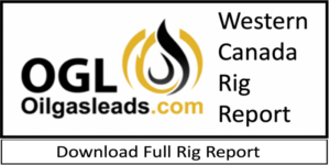 Western Canada Drilling Rig Report