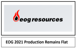 EOG Resources Oil Production Growth Strategy 2021