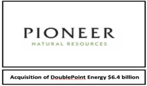 Pioneer Natural Resources Announces Acquisition of DoublePoint Energy in the Midland Basin
