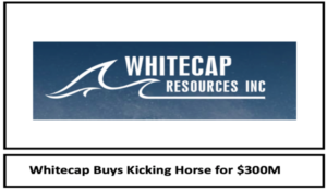 Whitecap Resources to acquire Kicking Horse Oil & Gas for $300M