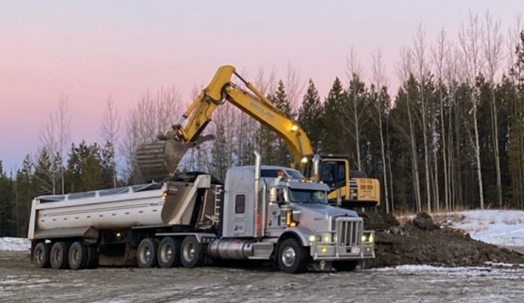 Equipment requires to remove contaminated soil from oil & gas site